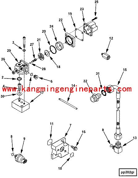 Engine Parts 4024808 Fuel Solenoid Kit Diesel Engine In China