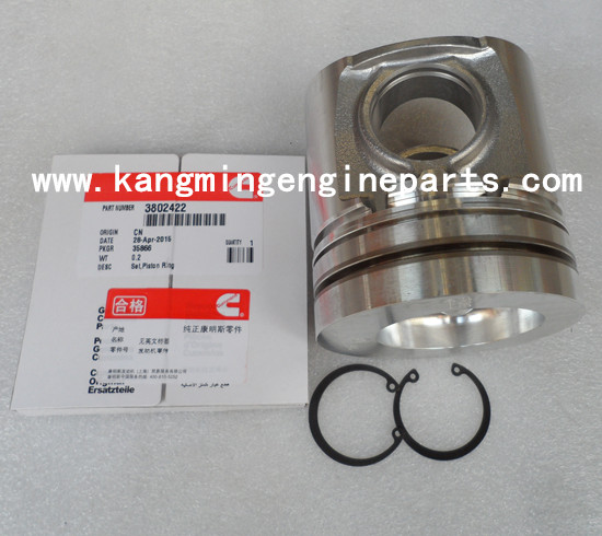 DCEC engine parts 6BTA5.9 kit engine piston 3802102