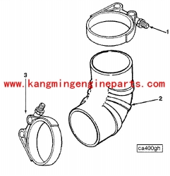 engine parts part 125742 clamp, t bolt