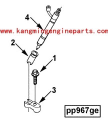 Engine  parts 3931262 injector 6CTA8.3
