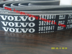 Original engine parts 3828041 volvo truck belts